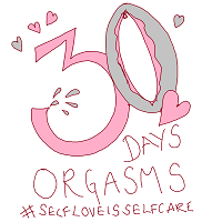 30 day orgasm challenge logo