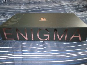 side view of fuzion enigma box